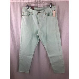 *NWT* LEVI'S Teal Wedgie Fit Jeans Sz 31